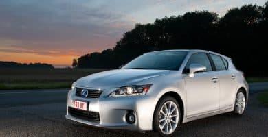 2011 Lexus CT200H Los cinco mejores modelos de Lexus Hatchback de todos los tiempos