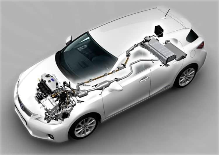 2011 lexus ct 200h 074 Historia y evolución del Lexus CT200H
