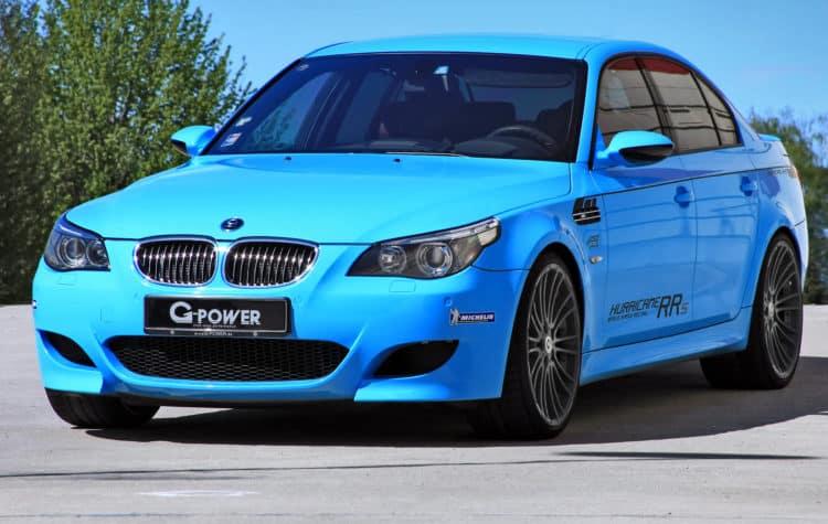 2012 BMW M5 G Power Hurricane RRs Los 20 BMW más caros jamás construidos