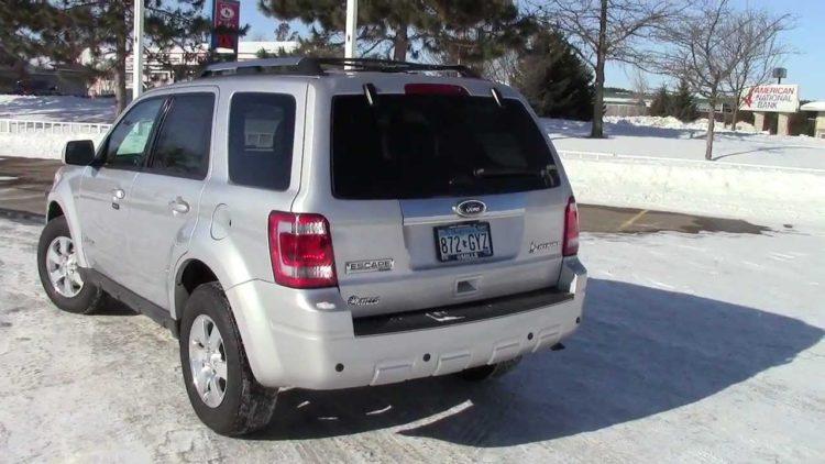2012 Ford Escape Híbrido