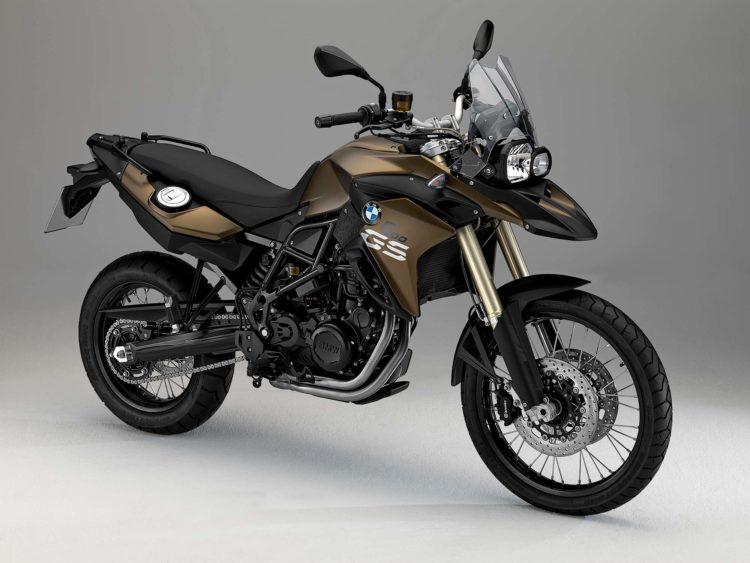 2013 bwm f 800 gs Las cinco mejores motocicletas BMW desde 2010 hasta el presente