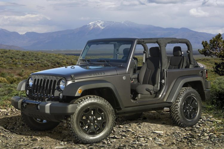 2014 Jeep Wrangler Willys Wheeler JK