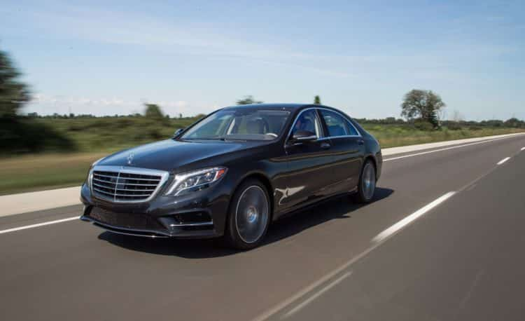 2014 Mercedes S550 History and evolution of the Mercedes S550