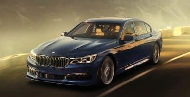 2017 BMW Alpina B7 X Drive Los cinco mejores autos BMW Serie 7 de la última década