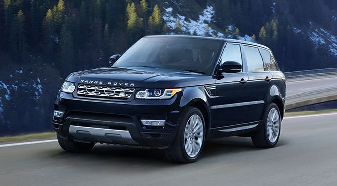 2017 Land Rover Range Rover Sport Clasificación de los 10 mejores SUV de lujo de 2017