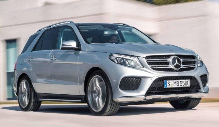 2017 Mercedes Benz GLE Class Clasificación de los 10 mejores SUV de lujo de 2017