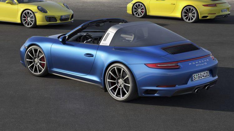 2017 Porsche Targa 4S