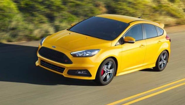 2018 Ford Focus ST 20 cool cars under $ 30,000