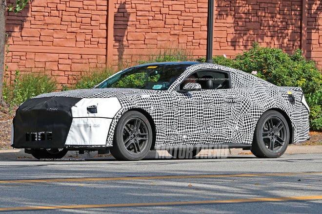 2018 Ford Mustang ¿Cómo se verá el Ford Mustang 2018?