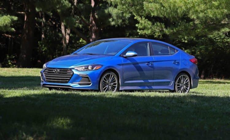 2018 Hyundai Elantra Sport 20 cool cars under $ 30,000
