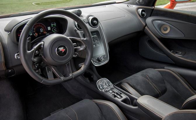 2018 McLaren 570GT Interior ¿Qué diferencia a los interiores de McLaren de otros autos?