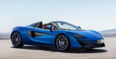 2018 McLaren 570S Spider front three quarter 02 Lo que necesitas saber
