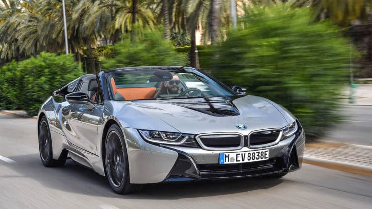 2019 BMW i8 Coupe y Roadster