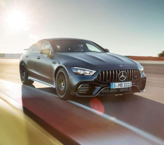 2019 Mercedes Benz AMG - GT 4 PUERTAS