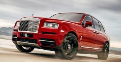 2019 Rolls Royce Cullinan 325000 Las 20 SUV más caras de todos los tiempos
