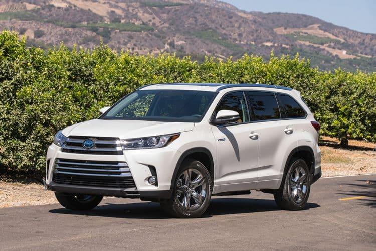 Toyota Highlander Híbrido 2019