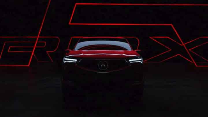 2019 acura rdx prototype video teaser Una vista previa de la Acura RDX 2019