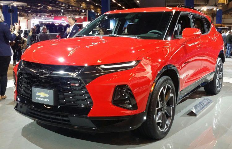 2019 Chevrolet Blazer au SIAM 2019 Los 20 mejores SUV Chevy de todos los tiempos