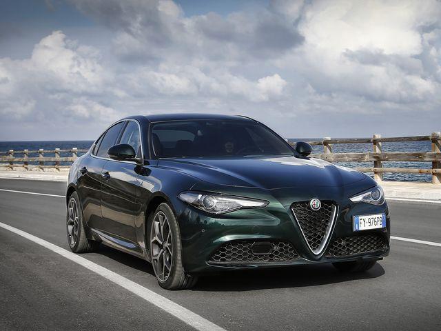 Exterior del Alpha Romeo Giulia 2020