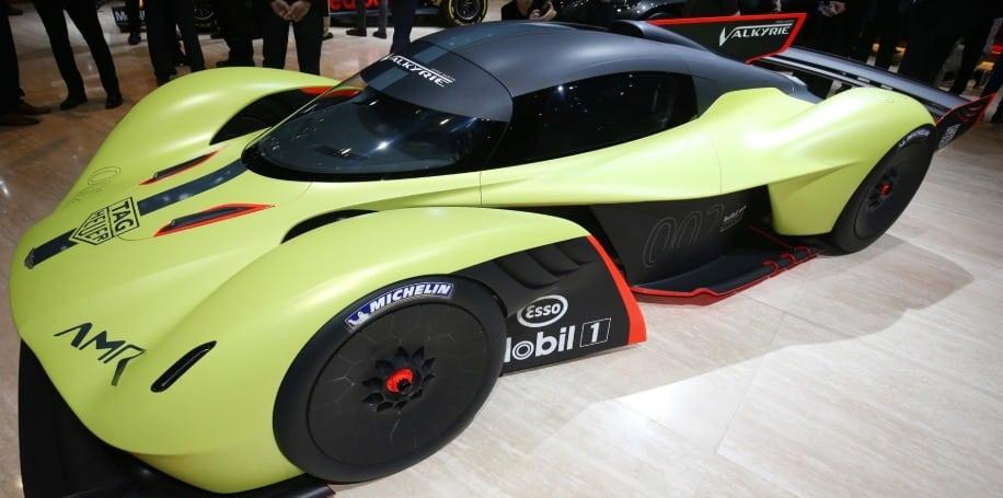 2020 Aston Martin Valkyrie AMR Pro Los 20 autos deportivos más esperados para 2020