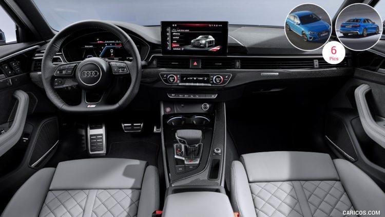 Interior del Audi S4 2020