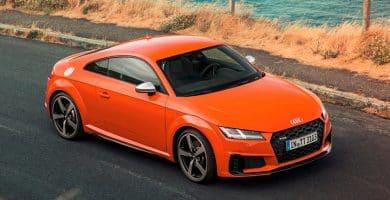 2020 Audi TT Los 20 autos de lujo más eficientes en combustible para 2020
