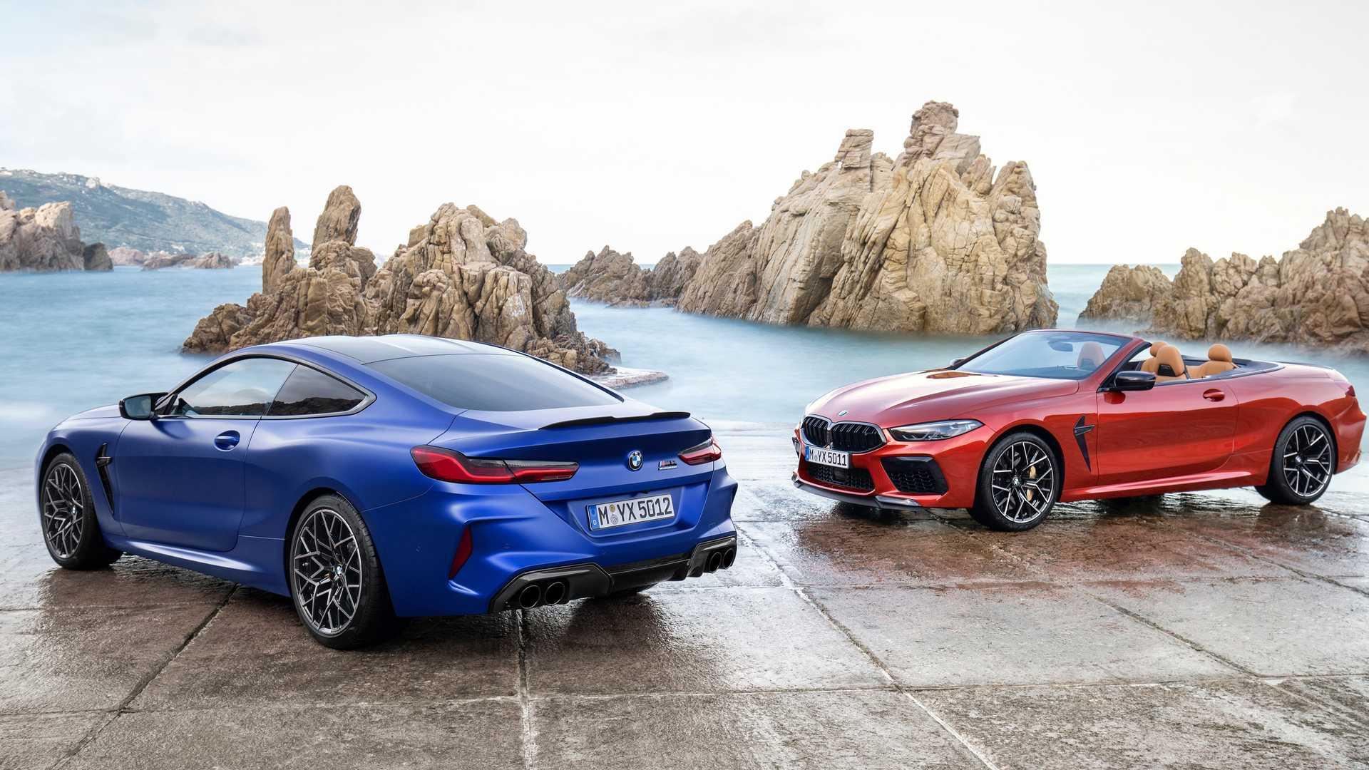 2020 BMW M8 Convertible Los 20 mejores modelos de autos convertibles para 2020