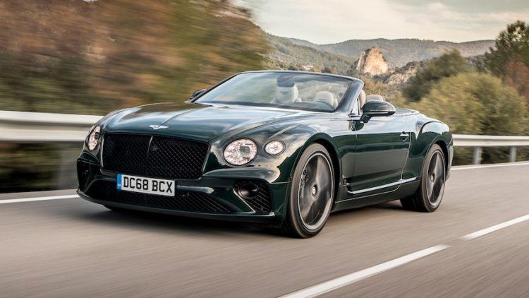 Bentley Continental GT Cabriolet 2020