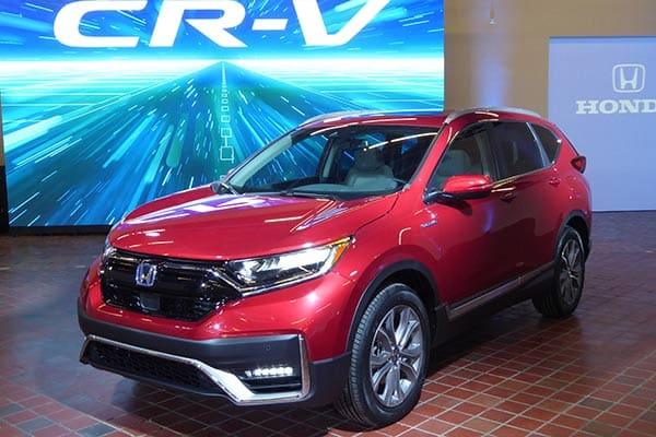 Honda CRV híbrido 2020