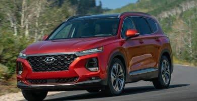 2020 Hyundai Santa Fe Los 10 SUV menos costosos de cara a 2020