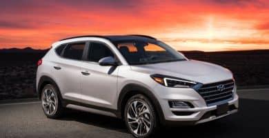 2020 Hyundai Tucson Los 20 mejores SUV pequeños que se dirigen a 2020