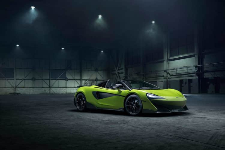 McLaren 600LT descapotable 2020