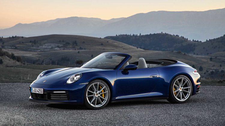 Porsche 911 descapotable 2020