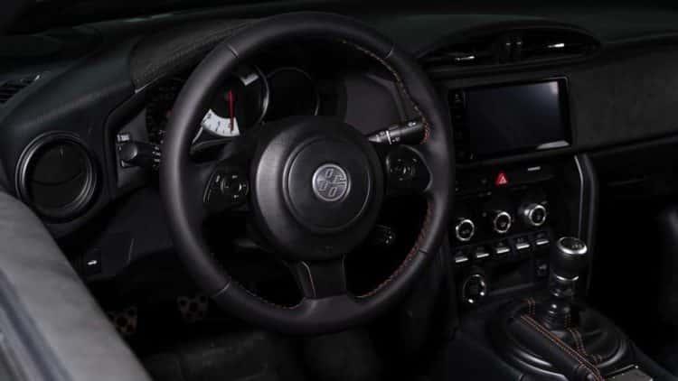 Interior 1 del Toyota 86 Hakone Edition 2020
