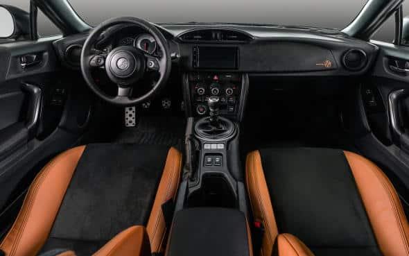Interior del Toyota 86 Hakone Edition 2020
