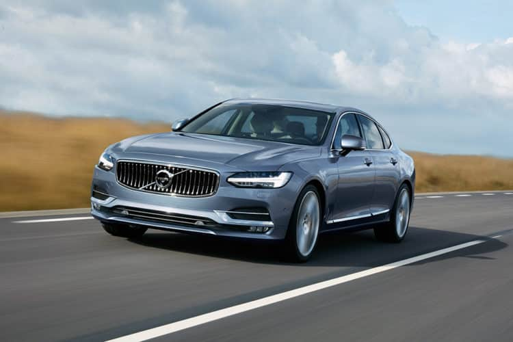 2020 Volvo S90-T8 490 millas