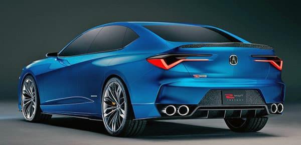 2021 Acura TLX back