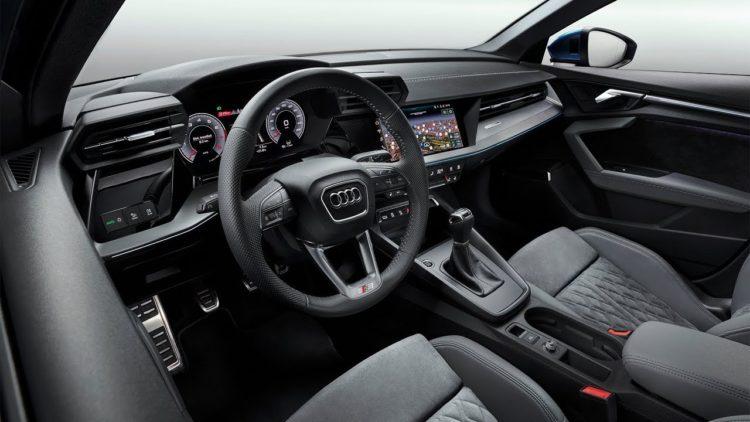 Interior del Audi A3 2021
