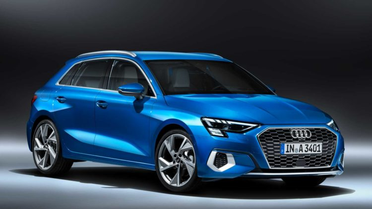 2021 Audi A3 lateral