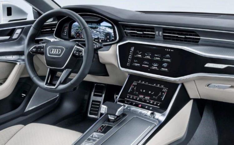 Interior del Audi RS5 2021