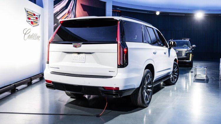 Cadillac Escalade 2021 de vuelta