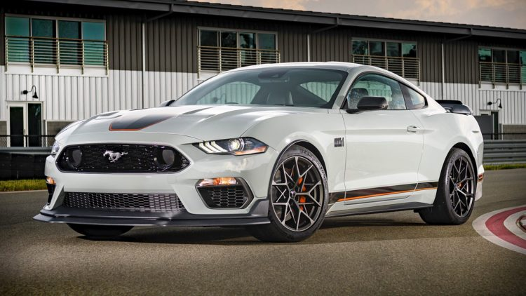 2021 Ford Mustang Mach 1 1