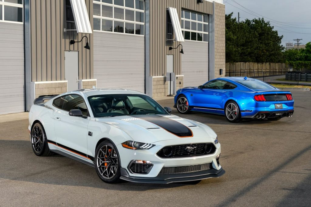 2021 Ford Mustang Mach 1 Una mirada más cercana al Ford Mustang Mach 1 2021