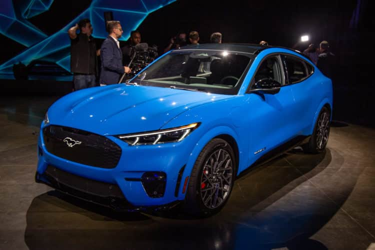 2021 Ford Mustang Mach 1 2
