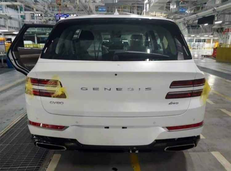 2021 Genesis GV80 volver 1
