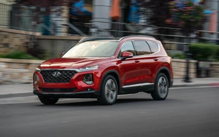 Exterior del Hyundai Santa Fe 2021