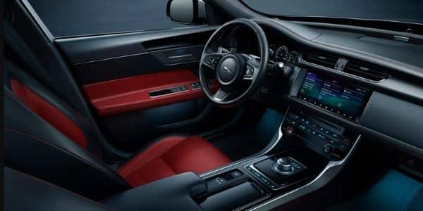 Interior del Jaguar XF Sportbrake 2021