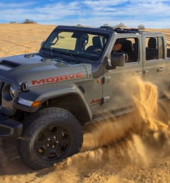 2021 Jeep Gladiator Mojave 10 cosas que no sabías sobre el Jeep Gladiator Mojave 2021
