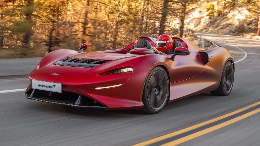 2021 McLaren Elva Los mejores modelos convertibles de McLaren de todos los tiempos