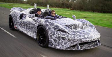 2021 McLaren Elva Prototype 10 cosas que no sabías sobre el prototipo de McLaren Elva 2021